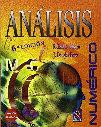 ANALISIS NUMERICO por Richard L. Burden