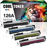 Cool Toner 4 Pack Kompatibel für Toner HP 126A CE310A CE311A CE312A CE313A Tonerkartusche für HP Color LaserJet Pro CP1025 CP1025NW, HP M275, HP LaserJet Pro 100 Color MFP M175A M175NW