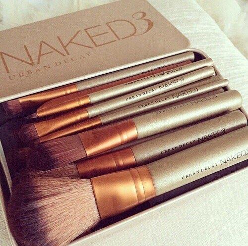 4Play Cosmetic Makeup Brush Set - 12 Piece Set With Storage Box