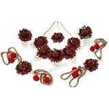 Balika Vadhu Jewellery Designer Jwellery Set for Women & Girls (Mehandi/Haldi /Bridal/Baby Shower/Marriage)