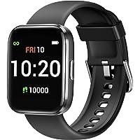 Letsfit Smartwatch, Fitnessuhr mit Schrittzähler, Fitness Tracker IP68 Wasserdicht Sportuhr Smart Watch mit Pulsuhr und…