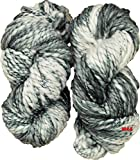 #2: M.G Sumo Grey Thick and Thicker wool 400 gm