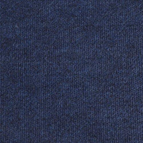 Cord Carpet, Blue, Cheap Thin Flooring - 7.5m x 4m
