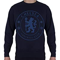 Chelsea FC Mens Sweatshirt Graphic Top Official Football Gift