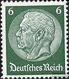 Prophila Deutsches Reich 484 mit seltenem Wasserzeichen Waffeln 1933 Hindenburg (Briefmarken für Sammler)