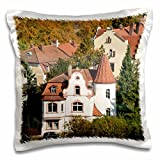 Danita Delimont - Germany - Skyline of Bamberg, Germany - EU10 MDE0014 - Michael DeFreitas - 16x16 inch Pillow Case (pc_137141_1)