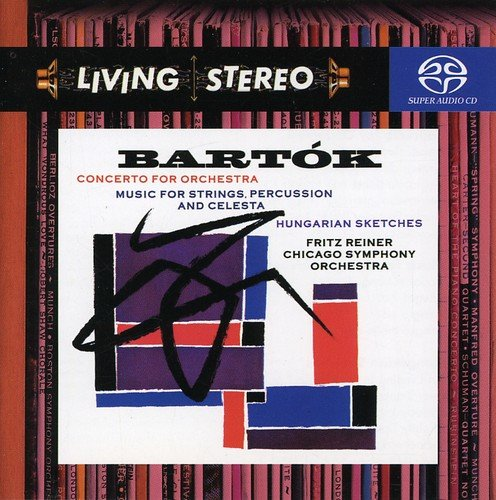 Living Stereo: Concerto for Orchestra Red Stereo