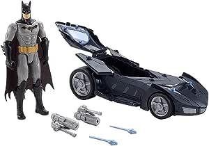 DC Comics Batman Justice League Twin Blast Batmobile Car Ages 3 New Toy