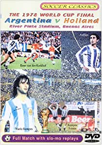 1978 World Cup Final - Argentina Vs Holland [DVD]