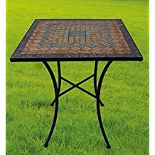 mesas hierro jardin