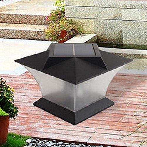 Die Licht Außen Solar Energie LED 18LED wasserdurchlässigkeit die Lampe von Weg-Dachrinnenreiniger-Wand-Yard Lumière Chaude