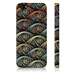 Apple iPhone 5/5S Abstract Pattern Printed Designer Mobile Phone Case Back Cover by Be Awara - Matte Finish