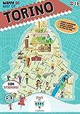 Mappa di Torino illustrata