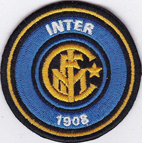 Patch Inter Football Club Fußball Replica Durchmesser cm 6,5Aufnäher Stickerei -998 (Inter-fußball)