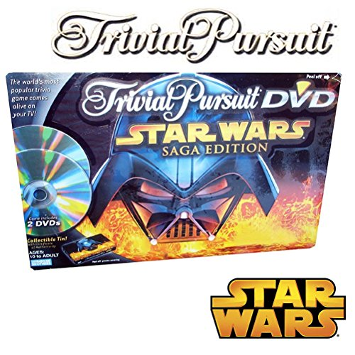 Trivial Pursuit DVD Star Wars Saga Edition by JNL Trading