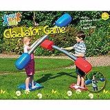 Juego de porras de duelo de gladiador inflable para niños