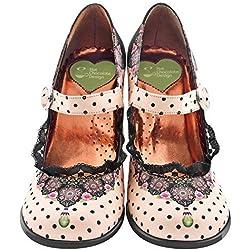 Hot Chocolate Design Chocolaticas Doris Tacon Mary Jane para Mujeres