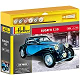 Heller - 50706 - Maquette - Voiture - Bugatti T.50 - Echelle 1/24 - Kit