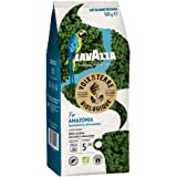 Lavazza Café en Grains Les Voix de la Terre For the Amazonia, Café en grains 100% Arabica Biologique, Torréfaction Moyenne, P