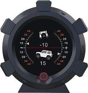 Autool X95 Gps Neigungsmesser Digitaler Auto Lcd Elektronisch Winkelmesser Hud Anzeige Clinometer Für Dc 5 28v Kfz Offroad Auto