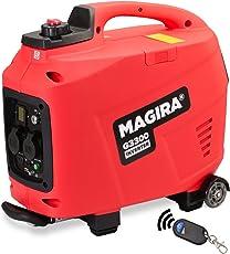 MAGIRA 3,3kW Digitaler Inverter Stromerzeuger mit E-Starter, benzinbetriebener Generator : 800W (0,8kW) - 7000W (7,0kW)