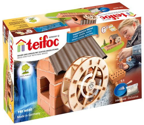 Teifoc Steinbaukästen - TEI 4030 - Wasserrad