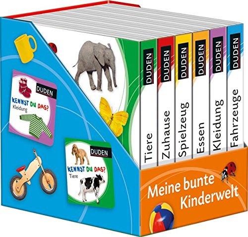 DUDEN Pappbilderbücher Kennst Du das?: Kennst du das? Meine bunte Kinderwelt