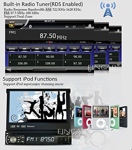Eincar 7inch Wince Car Radio Stereo Sing 1 Din Autoradio