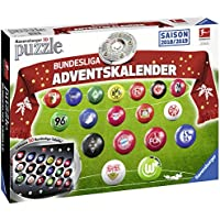 Ravensburger Erwachsenenpuzzle 11679 Adventskalender Bundesliga
