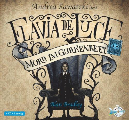 Buchseite und Rezensionen zu 'Flavia de Luce - Mord im Gurkenbeet: 6 CDs' von Alan Bradley