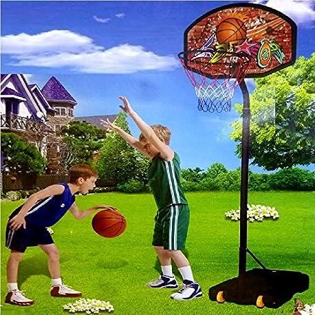 Juego de cestas de bal n de pie ajustables gen rico para casquillo de bola de ajuste gancho de red de tama o grande para ces