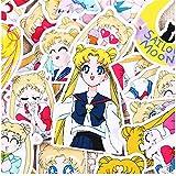 36 Stück Kreative niedliche selbstgemachte hübsche Guardian Sailor Moon Scrapbooking Aufkleber Dekorative Sticker