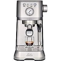 Solis Barista Perfetta Plus 1170 Kaffeemaschine - Espressomaschine mit Dampf- und Heißwasserfunktion - Siebträger…