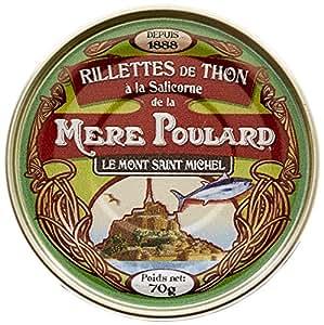 Biscuiterie Mère Poulard Rillettes de Thon à la Salicorne 70 g