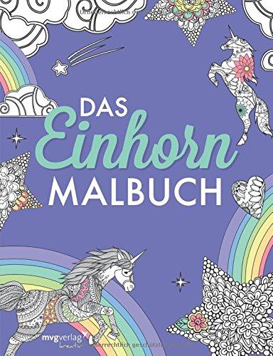 Das Einhorn-Malbuch für Kinder