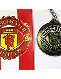 Zyamalox United Manchester Football Club Key Chain For Football Lovers In Antique Design / Keyring / Key Ring...