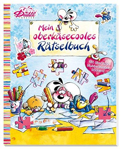 Diddl Mein oberkäsecooles Rätselbuch: Mit über 100 blubberbunten Stickern