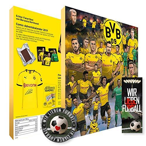 Borussia Dortmund Comic Adventskalender 2019