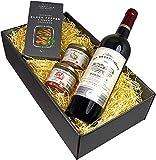 Französischer Bordeaux Wein und Pasteten Geschenkset
