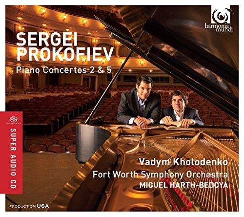Klavierkonzerte 2 & 5 (2 Prokofiev Symphony)