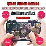 Gemeinsame 2018 Mobile Game Controller Upgrade Version, Empfindliche Shoot und Ziel Schlüssel L1R1Shooter Controller für pubg/fortnite/Rules of Survival, Mobile Gaming Joystick für Android iOS