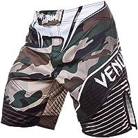 Venum Camo Hero Pantalones Cortos de Entrenamiento, Hombre, Verde/marrón, XS