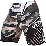 Venum Herren Training Shorts Camo Hero, Green/Brown, L