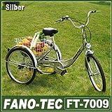 RMAN Dreirad Für Erwachsene Erwachsenendreirad Fahrrad Mit 3 Rädern Seniorenrad Lastenfahrrad 24