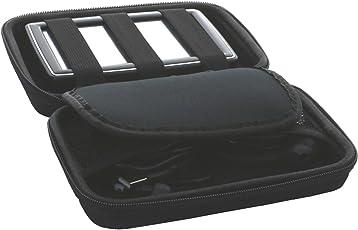 Universal Hardcase Navi Tasche für 5 Zoll (12,7cm) Navigationsgeräte Becker / Blaupunkt / Garmin / TomTom Go Modelle - Navitasche SLIM
