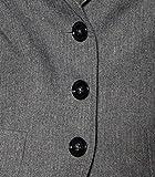 Drykorn Damen Blazer Minehead mit Fischgrät-Muster 11 Grey 3 Vergleich
