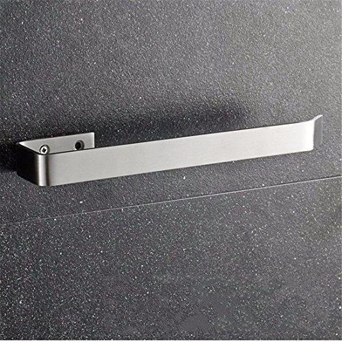 Badausstattung Sets Badezimmer-Zubehör Sanitär Badinstallationen Lagersysteme 304Stainless Steel Drawing SquareToilettenbürstenhalter Toilettenpapierhalter, Handtuchring -