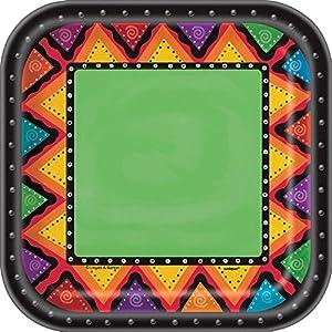 Partido Ênico 18 cm cuadrados Placas del partido de México (Pack de 10)
