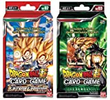 Dragon Ball Super Cross Worlds Starter Decks: Extreme Evolution & Dark Invasion