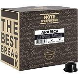 Note D'Espresso - Arabica - Capsule di Caffè per Macchine Caffitaly - Confezione da 100 X 6.8g